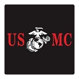 FIGHTERSTOWN Cutting Sticker U.S.M.C Two Colors - Organizer Mobil
