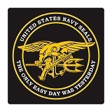 FIGHTERSTOWN Cutting Sticker U.S. Navy Seals Big Size - Organizer Mobil