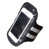 ALAT FITNESS Smartphone Arm Pocket Fingard [ASS121] - Hitam - Arm Band / Wrist Strap Handphone