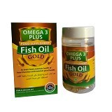 FISH OIL Omega 3 Gold Plus - Suplement Penambah Daya Tahan Tubuh