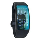 FLUX USB Smartwatch Pedometer 8 GB [FULW7] - Black (Merchant) - Smart Watches