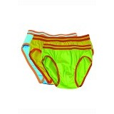 FLY KIDS Briefs Boys Light Size S [FKA 3069] - Green - Celana Bepergian/Pesta Bayi dan Anak