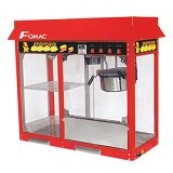 FOMAC Popcorn Machine with Warming Showcase [POC-POP6AD] - Popcorn Maker