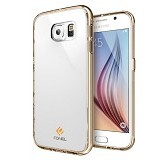 FONEL Crystal Supreme Case for Samsung Galaxy S6 - Gold (Merchant) - Casing Handphone / Case
