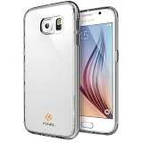 FONEL Crystal Supreme Case for Samsung Galaxy S6 - Silver (Merchant) - Casing Handphone / Case