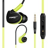 FONGE Sport Earphone Bass Over Ear Design - Green (Merchant) - Earphone Ear Monitor / Iem