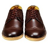 FOOTSTEP Cosmo Size 43 - Dark Brown - Casual Boots Pria