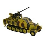 FORCES OF VALOR German Anti Aircraft Gun Diecast Meriam Anti Pesawat [1943] (Merchant) - Die Cast