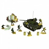 FORCES OF VALOR Sherman [85078] (Merchant) - Die Cast