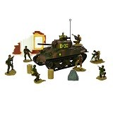 FORCES OF VALOR Sherman [85091] (Merchant) - Die Cast
