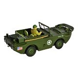 FORCES OF VALOR U.S. Amphibian General Purpose Vehicle GP Normandy 1944 Diecast Mobil [82010] (Merchant)