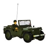 FORCES OF VALOR U.S. General Purpose Vehicle GP Jeep Normandy 1944 Diecast Jeep (Merchant) - Die Cast