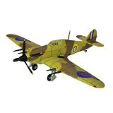 FORCES OF VALOR UK Hurricane 1940 Diecast Pesawat Tempur (Merchant) - Die Cast
