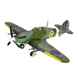 FORCES OF VALOR UK Hurricane Mk. IIC Diecast Pesawat Tempur (Merchant) - Die Cast