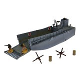 FORCES OF VALOR US Landing Craft LCM3 Diecast Kapal Perang [85242] (Merchant) - Die Cast