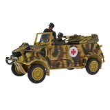FORCES OF VALOR Volkswagen Kubelwagen Type 82 Diecast Mobil [82011] (Merchant) - Die Cast