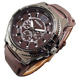 FOSSIL Jam Tangan Kana for Man - Dark Brown (Merchant) - Jam Tangan Pria Fashion