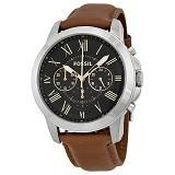 FOSSIL Jam Tangan Pria Grant Chronograph Dial [FS4813] - Black (Merchant) - Jam Tangan Pria Casual