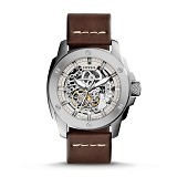 FOSSIL Jam Tangan Pria Machine Skeleton Dial [ME3083] - Brown (Merchant) - Jam Tangan Pria Casual