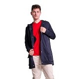 FOXLOX Foxpark Clever Man Size XL - Navy (Merchant) - Jaket Casual Pria