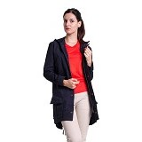 FOXLOX Foxpark Clever Woman Size S - Navy (Merchant) - Jaket Casual Wanita