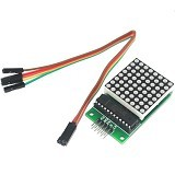 FREELAB LED 8x8 dot matrix modul (Merchant) - Modif Spare Part