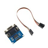 FREELAB MAX232 RS232 to TTL converter modul (Merchant) - Modif Spare Part