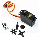 FREELAB Motor servo Tower Pro MG995 full metal gear (Merchant) - Modif Spare Part