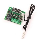 FREELAB Thermal relay/relay + sensor suhu W1209 (Merchant) - Modif Spare Part