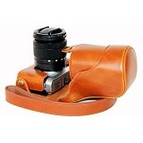 FUJI Leather Case for X-M1 - Camera Compact Pouch
