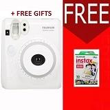 FUJIFILM Camera Instax Polaroid 50s Paket A - White (Merchant)