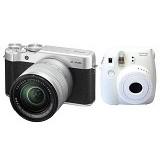 FUJIFILM Digital Camera X-A10 Kit + Instax Mini 8