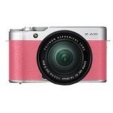 FUJIFILM Digital Camera X-A10 Kit - Pink - Camera Mirrorless