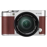 FUJIFILM Digital Camera X-A3 Kit1 - Brown (Merchant) - Camera Mirrorless