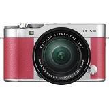 FUJIFILM Digital Camera X-A3 Kit1 - Pink (Merchant) - Camera Mirrorless