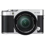 FUJIFILM Digital Camera X-A3 Kit1 - Silver (Merchant) - Camera Mirrorless