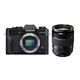 FUJIFILM Digital Camera X-T10 Kit3 - Black - Camera Mirrorless