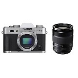 FUJIFILM Digital Camera X-T10 Kit3 - Silver - Camera Mirrorless
