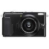 FUJIFILM Digital Camera X70 - Black (Merchant) - Camera Pocket / Point and Shot