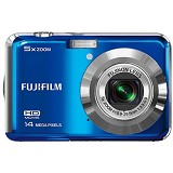 FUJIFILM Finepix AX600 - Biru - Camera Pocket / Point and Shot