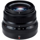 FUJIFILM Fujinon XF 35mm F2 R WR - Black - Camera Mirrorless Lens
