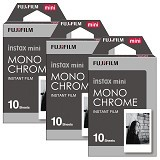 FUJIFILM Instax Paper Monochrome Three Pack - Camera Roll Film