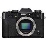 FUJIFILM Mirrorless Digital Camera X-T20 Body Only - Black - Camera Mirrorless