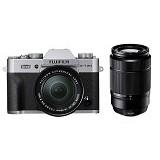 FUJIFILM Mirrorless Digital Camera X-T20 Double Kit - Silver