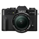 FUJIFILM Mirrorless Digital Camera X-T20 Kit2- Black - Camera Mirrorless