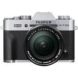 FUJIFILM Mirrorless Digital Camera X-T20 Kit2- Silver - Camera Mirrorless