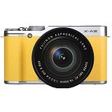 FUJIFILM X-A2 Kit1 - Yellow - Camera Mirrorless