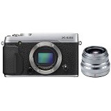 FUJIFILM X-E2S Kit2 - Silver - Camera Mirrorless