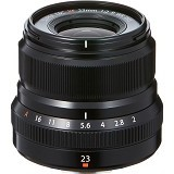 FUJIFILM Fujinon XF 23mm f/2 R WR Lens - Black - Camera Mirrorless Lens