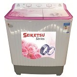 FUJITEC Mesin Cuci 2 Tabung [WM-981MS] - Mesin Cuci Twin Tub